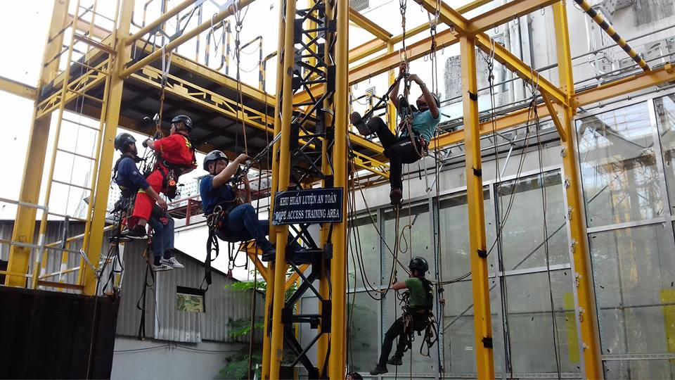 huan luyen rope access